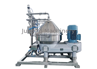 Liquid Liquid Oil Separator Machine / Coconut Oil Disc Stack Centrifuges